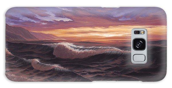 Sunset At Big Sur Galaxy Case