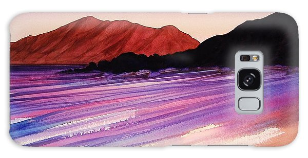 Sunset At Black Rock Maui Galaxy Case