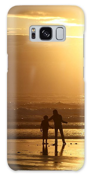 Sunset At Cannon Galaxy Case