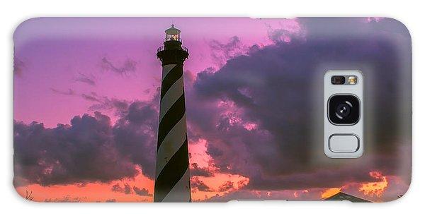 Sunset At Cape Hatteras Galaxy Case by Nick Zelinsky