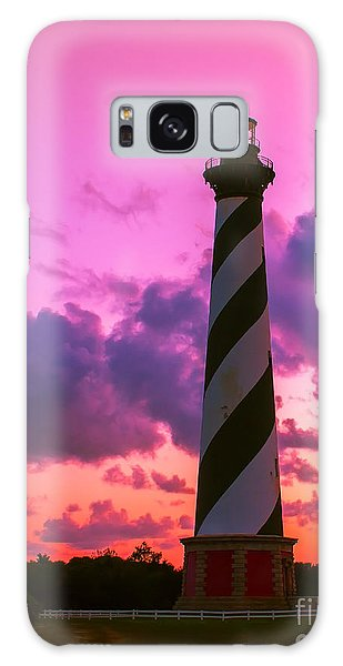 Sunset At Cape Hatteras Vertical  Galaxy Case