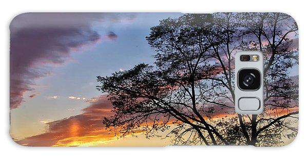 Sunset At Chesapeake Beach Galaxy Case