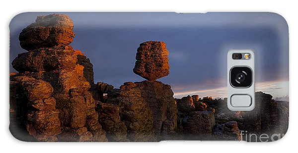 Sunset At Chiricahua Galaxy Case