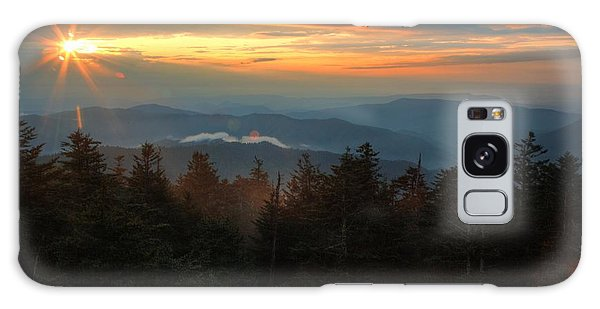 Sunset At Clingman's Dome Galaxy Case