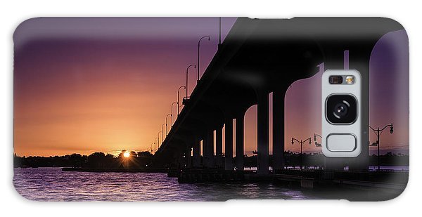 Sunset At Jensen Beach Galaxy Case