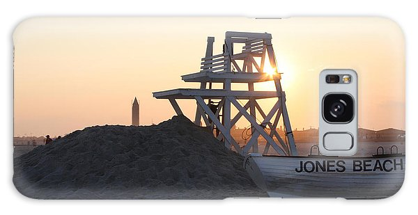 Sunset At Jones Beach Galaxy Case