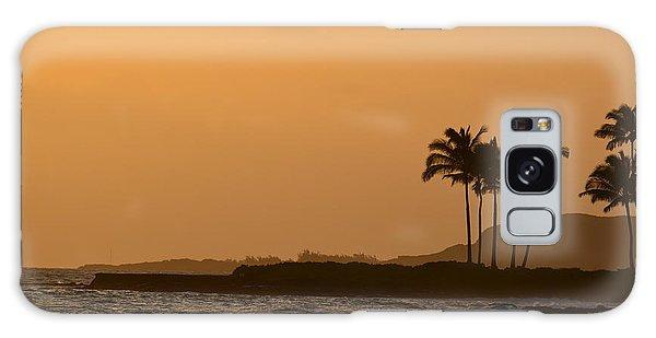 Sunset At Koloa Galaxy Case by P S