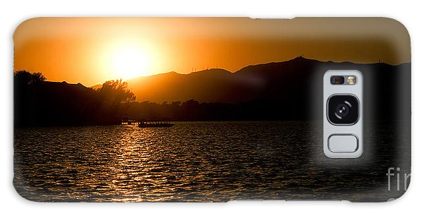 Sunset At Kunming Lake Galaxy Case