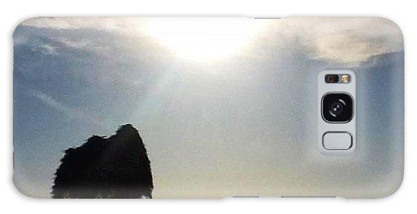 Sunset At La Jolla Galaxy Case by Susan Garren