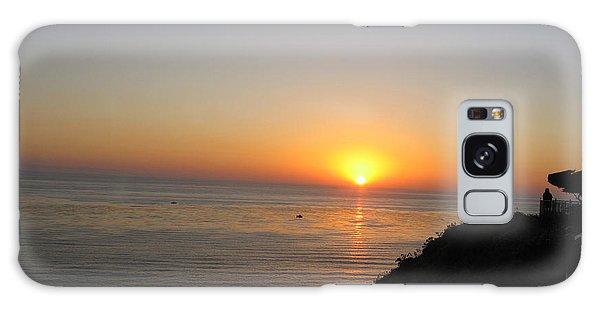 Sunset At Laguna Niguel California Galaxy Case