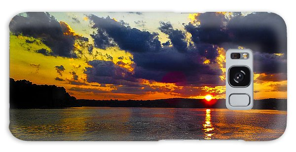 Sunset At Lake Logan Martin Galaxy Case