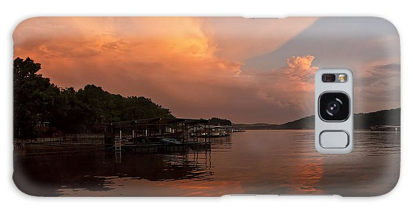 Sunset At Lake Of The Ozarks Galaxy Case
