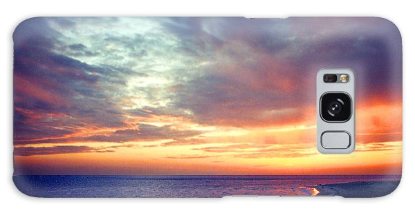 Sunset At Lido Key Galaxy Case by Mariarosa Rockefeller