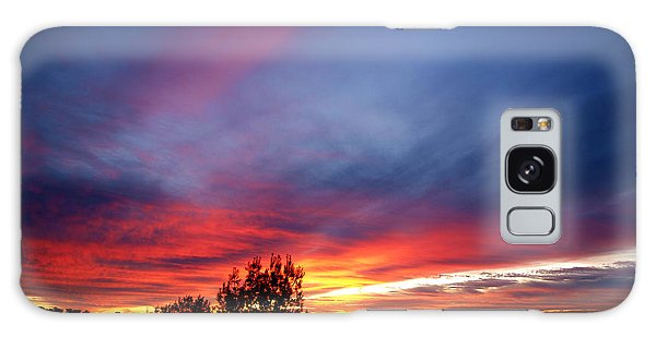 Sunset At Mount Carmel  Haifa 01 Galaxy Case