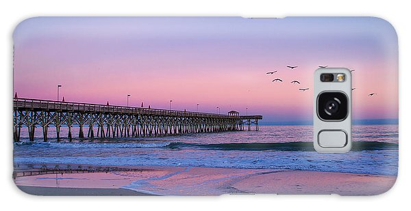Sunset At Myrtle Beach Galaxy Case
