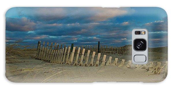 Sunset At Nauset Beach Cape Cod Galaxy Case