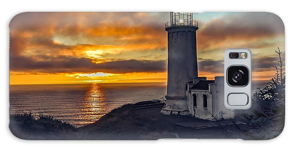 Haybale Galaxy Case - Sunset At North Head by Robert Bales