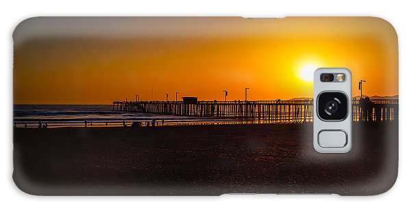 Sunset At Pismo Galaxy Case