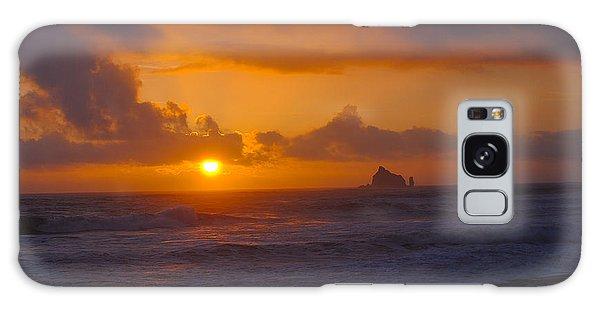 Sunset At Rialto Galaxy Case