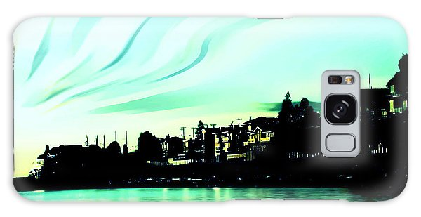 Sunset At Richmond Beach Washington Galaxy Case by Eddie Eastwood