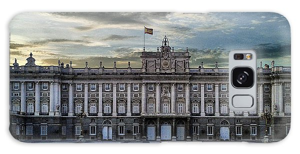 Sunset At Royal Palace Galaxy Case