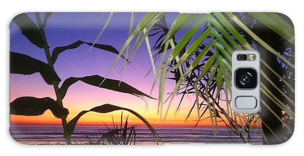 Sunset At Sano Onofre Galaxy Case