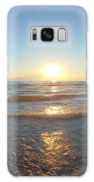 Sunset At Sauble Beach  Galaxy Case