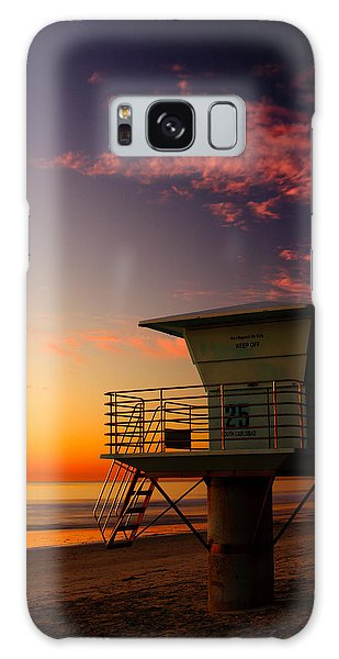 Sunset At South Carlsbad State Park Galaxy Case