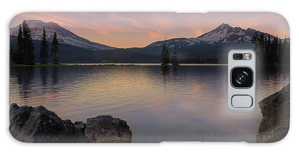 Sunset At Sparks Lake Galaxy Case