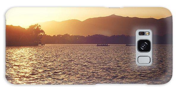 Sunset At Summer Palace Galaxy Case by Yew Kwang