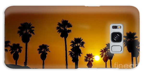Sunset At The Beach Large Canvas Art, Canvas Print, Large Art, Large Wall Decor, Home Decor Galaxy Case
