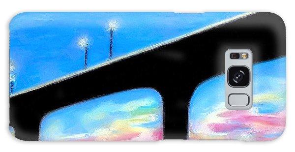 Sunset At The Bridge Galaxy Case