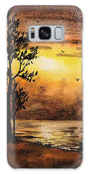 Outdoor Dining Galaxy Case - Sunset At The Lake by Irina Sztukowski