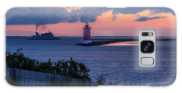 Sunset At The Point Galaxy Case by Robert Pilkington