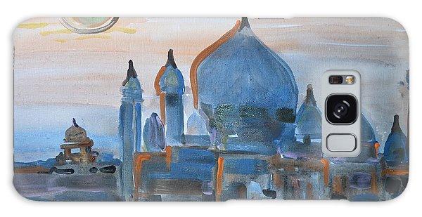 Sunset At The Taj Galaxy Case