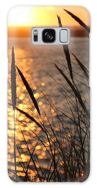 Sunset Beach Galaxy Case by Athena Mckinzie