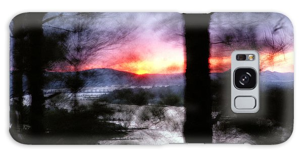 Sunset Atop Windy Emerald Park Galaxy Case by Jason Politte