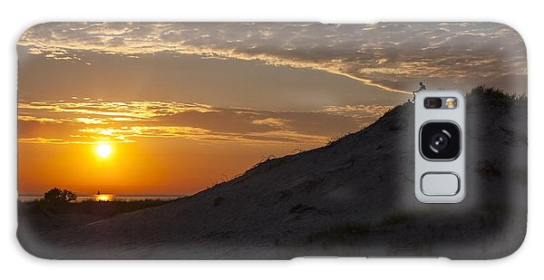 Sunset Audience Galaxy Case