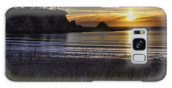 West Bay Galaxy Case - Sunset Bay Paradise by Mark Kiver