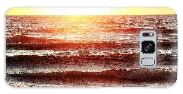 Sunset Beach Galaxy Case