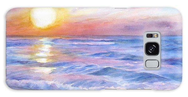 Sunset Beach Hawaii Seascape  Galaxy Case
