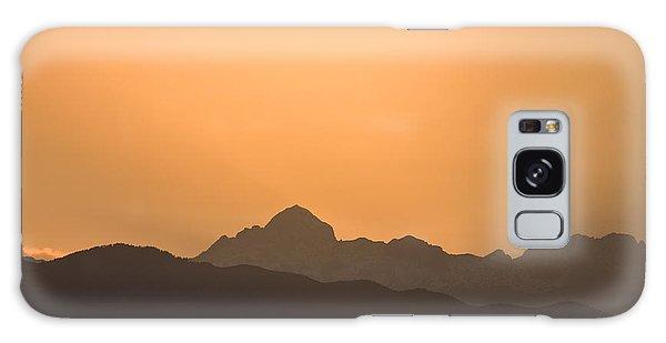 Sunset Behind The Julian Alps Galaxy Case