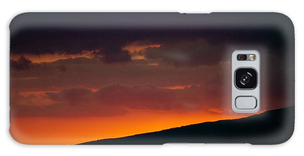 Sunset Beyond The Waianae Mountain Range Galaxy Case by Lehua Pekelo-Stearns