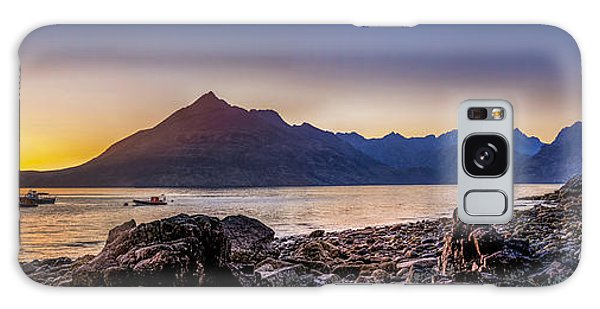 Sunset Black Cuillin Isle Of Skye Scotland Galaxy Case