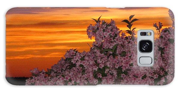 Sunset Blooms Galaxy Case