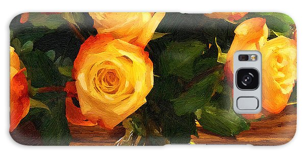 Sunset Bouquet Galaxy Case by Doug Kreuger