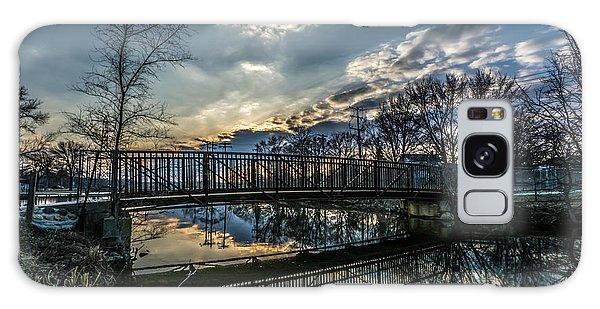 Sunset Bridge 2 Galaxy Case