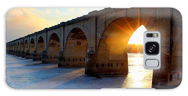 Sunset Bridge Galaxy Case
