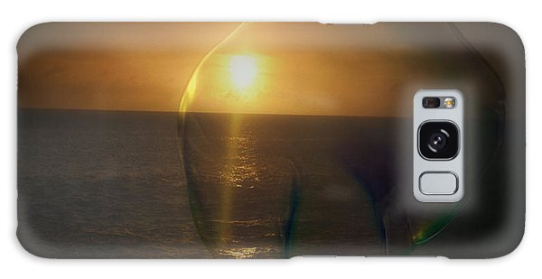 Sunset Bubble Galaxy Case