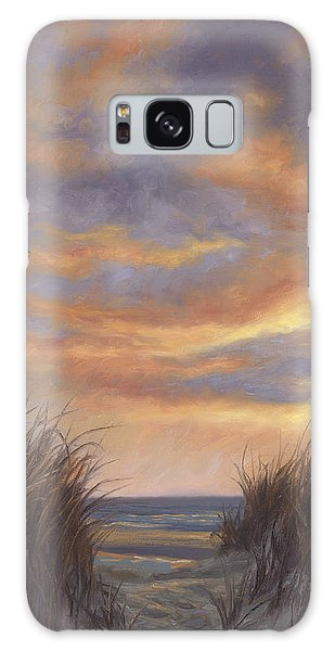 Sunset By The Beach Galaxy Case